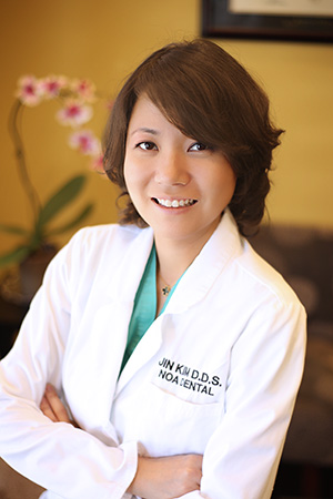 doctor photo - jin kim - dentist